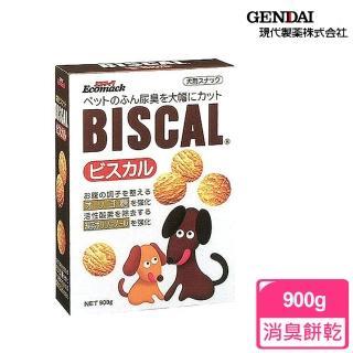 【必吃客Biscal】犬用-消臭餅乾(900g)