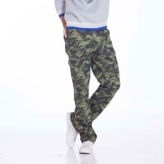 【EXPOSE】美式迷彩貼袋工作褲