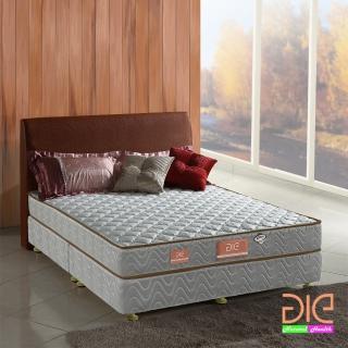 【aie享愛名床】竹碳+3M防潑水二線獨立筒床墊-雙人加大6尺(經濟型)