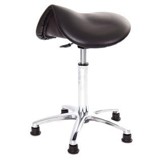 【吉加吉】馬鞍型 工作椅 TW-T05 LU(鋁合金腳座款)