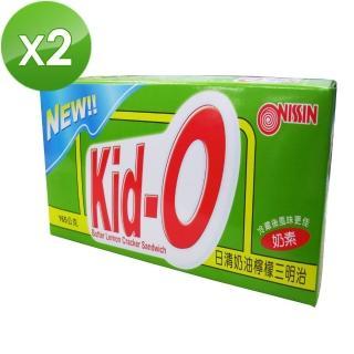 【NISSIN】Kid-O日清奶油檸檬三明治(2入組)