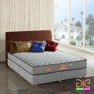 【aie享愛名床】竹碳+3M防潑水+記憶膠二線獨立筒床墊-雙人加大6尺(經濟型)