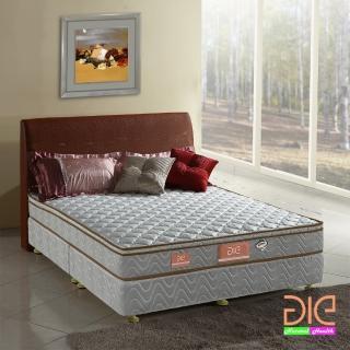 【aie享愛名床】竹碳+3M防潑水假三線獨立筒床墊-雙人加大6尺(經濟型)