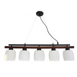 【華燈市】鄉村橫桿5燈吊燈(鄉村風)