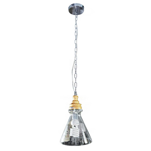 【華燈市】原木風-燒酒吊燈(工業LOFT風格)