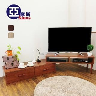 【Amos】溫潤木質雙層電視櫃(茶几桌/和室桌)