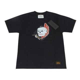 【NEIGHBORHOOD】TOKYO經典限量潮流塗鴉骷髏頭純棉短袖T(S/黑)