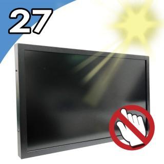 【Nextech】M系列 27吋-室外型 工控螢幕-非觸控-前防水-高亮度1000 nits(防水 高亮)