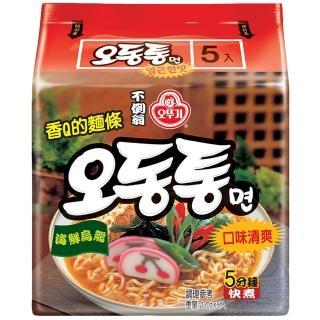 【韓國不倒翁OTTOGI】海鮮風味烏龍拉麵(120g*5)