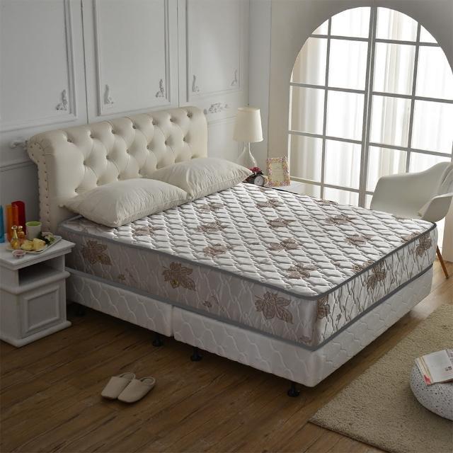 【睡芝寶】涼爽抗菌-(側邊強化獨立筒床墊-雙人5尺-涼爽紗)