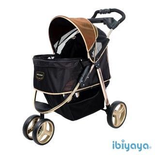 【IBIYAYA依比呀呀】尊爵號鋁合金寵物推車-奢華金(FS1616)