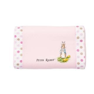 【奇哥】花園比得兔乳膠中童枕-附枕套(粉紅)