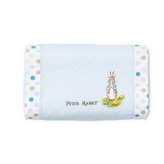 【奇哥】花園比得兔乳膠中童枕-附枕套(藍色)