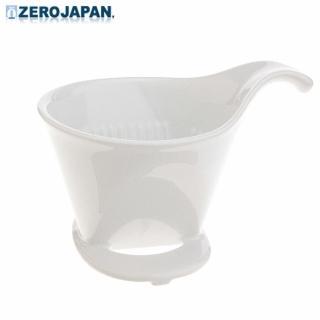 【ZERO JAPAN】典藏陶瓷咖啡漏斗-大(白色)