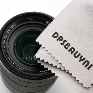 【D&A】光學鏡頭/液晶/精品專用 超細纖維清潔拭鏡布(15X15cm)