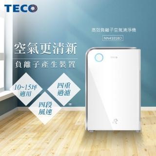 【TECO東元】高效負離子空氣清淨機(NN4101BD)