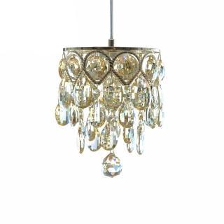 【華燈市】流金光影LED水晶吊燈(小型水晶吊燈)