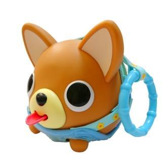 【SANKYORIKEN】日本進口超療癒愛說話動物球(掛環版-吉娃娃)