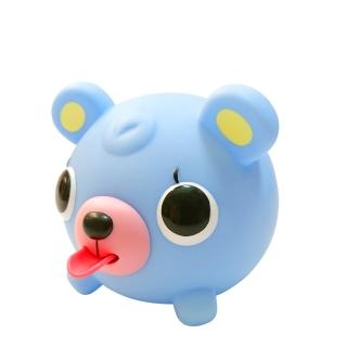 【SANKYORIKEN】日本進口超療癒愛說話動物球(粉藍小熊)