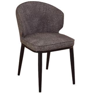 【AT HOME】喬安灰皮餐椅