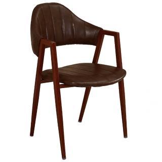 【AT HOME】韋德咖啡皮餐椅