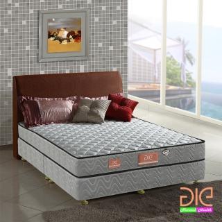 【aie享愛名床】竹碳+3M防潑水+記憶膠二線彈簧床墊-雙人加大6尺(經濟型)