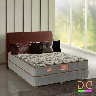 【aie享愛名床】竹碳+涼感紗+乳膠二線彈簧床墊-雙人加大6尺(實惠型)