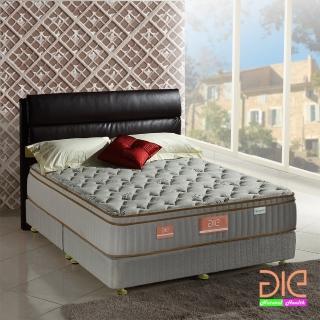 【aie享愛名床】天絲+乳膠+記憶膠真三線彈簧床墊-雙人加大6尺(奢華型)