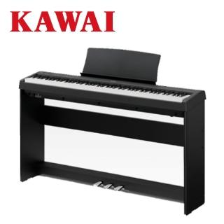 【KAWAI 河合】ES110 88鍵數位電鋼琴 時尚黑色款(原廠公司貨 商品保固有保障)