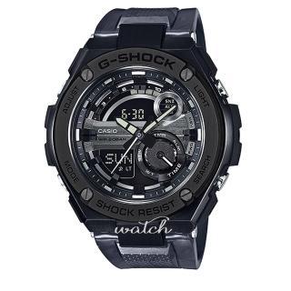 【CASIO 卡西歐 G-SHOCK 系列】潮流必備_絕對強悍_橡膠錶帶_耐衝擊構造_防水_男錶(GST-210M)