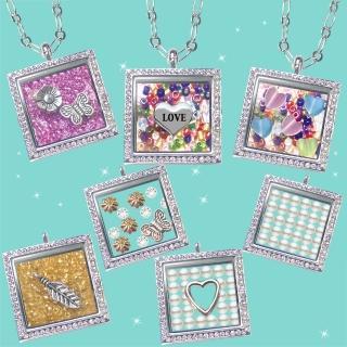 【HEMAKING】潘朵拉月光寶盒甜蜜方糖項鍊(7款/任選)