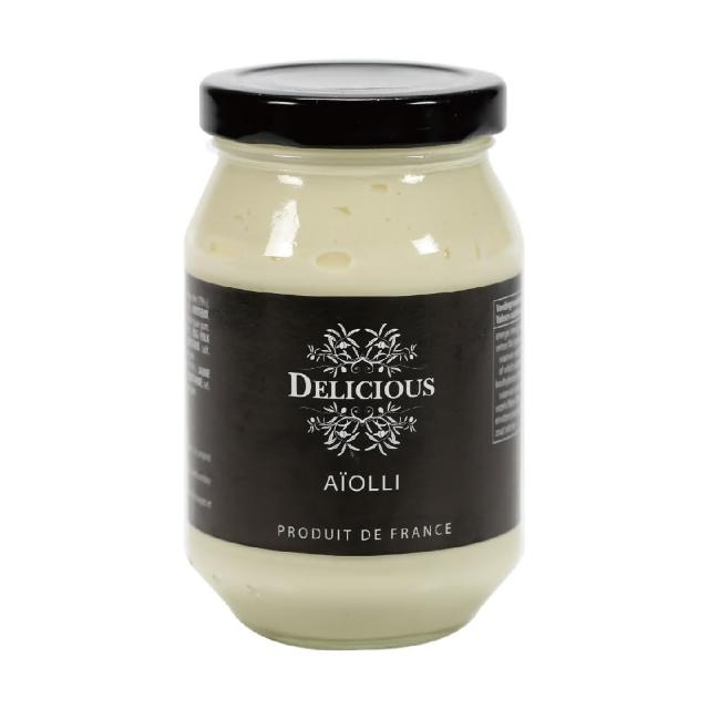 【Delicious】蒜味美奶滋 235g(義大利經典調味品)