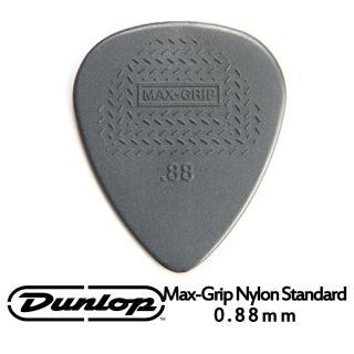 【JIM DUNLOP】JDGP-449R 0.88mm 吉他彈片 10片包裝(特殊尼龍彈片設計增加強大的防滑面)  JIM DUNLOP