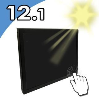 【Nextech】M系列 12.1吋-室外型 電阻式觸控螢幕-前防水-高亮度(前防水 高亮度)   Nextech
