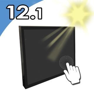 【Nextech】P系列 12.1吋-室外型 電容多點觸控螢幕-前防水-高亮度(前防水 高亮度)  Nextech