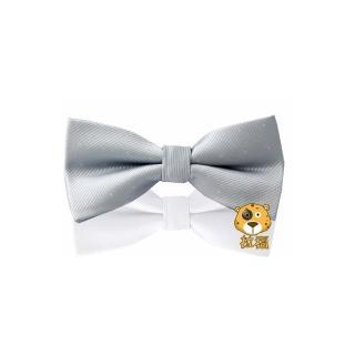 【拉福】銀絲點點結婚領結(銀色銀絲點點)  拉福