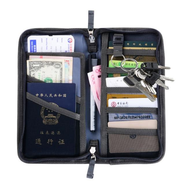 【PS mall】多功能護照包證件包 防水證件夾(J2054)