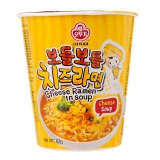 【韓國不倒翁OTTOGI】起司風味湯杯麵(62g)