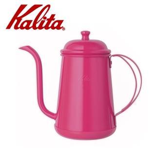 【Kalita】不銹鋼烤漆粉色手沖壺/細口壺 700ml(#52194)  Kalita