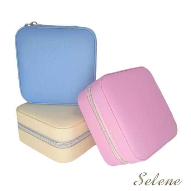 【Selene 珠寶】日系小巧珠寶盒(三色可選)