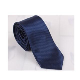 【拉福】領帶窄版領帶8cm防水領帶手打領帶(深藍.銀.黑)  拉福