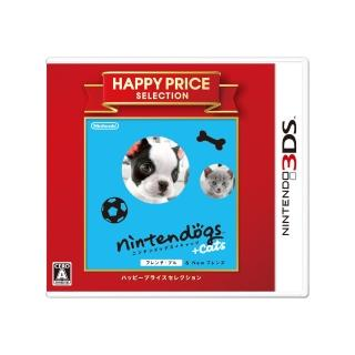 【任天堂】任天狗狗貓貓-法國鬥牛犬 日版日文版/日規機專用(3DS軟體)   Nintendo 任天堂