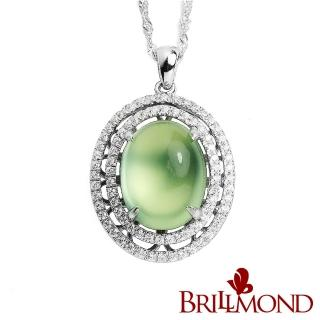【BRILLMOND】晶璨葡萄石墜(8克拉)   BRILLMOND JEWELRY
