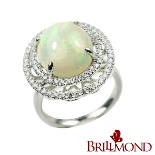 【BRILLMOND】極光蛋白石戒(5克拉)  BRILLMOND JEWELRY