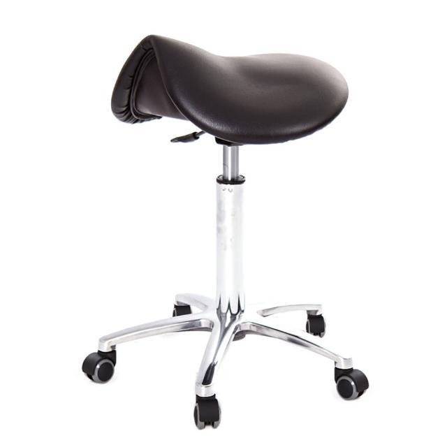 【吉加吉】馬鞍型 工作椅 TW-T05 LUX(鋁合金腳座款)