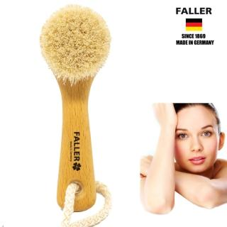 【德國FALLER芙樂梳具刷具】德國製 馬毛 手肘 膝蓋 腳跟 溫和角質清潔刷(肌膚柔嫩透亮)   FALLER 芙樂