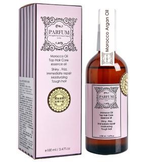 【Parfum 巴黎帕芬】經典香水摩洛哥胜月太護髮油100ml(SET)   Parfum 巴黎帕芬