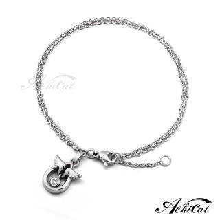 【AchiCat】鋼手鍊 珠寶白鋼 天使蛋 B592   AchiCat
