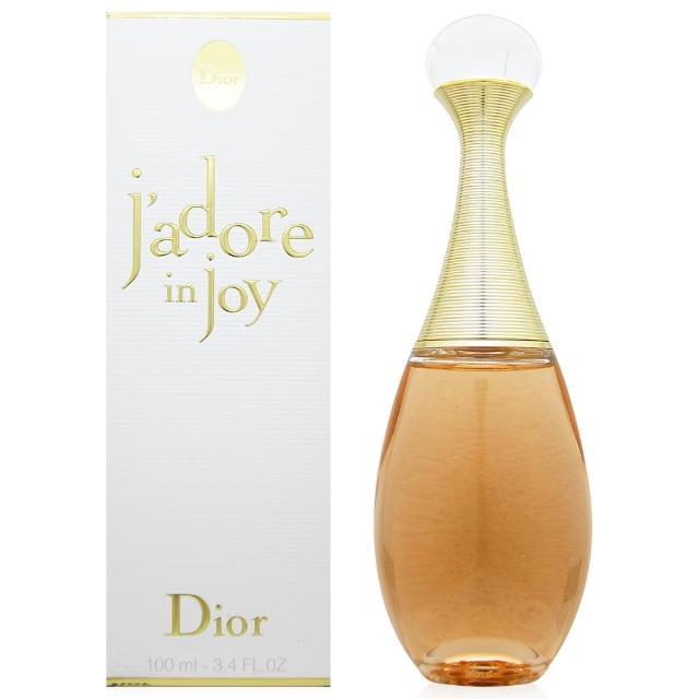 【Dior迪奧】jadore in joy愉悅女性淡香水100ml(贈Dior迪奧隨機針管香水二份)