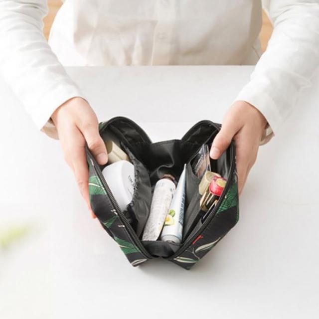 【JIDA】禾風超質感新款加厚化妝包-手拿包-2色